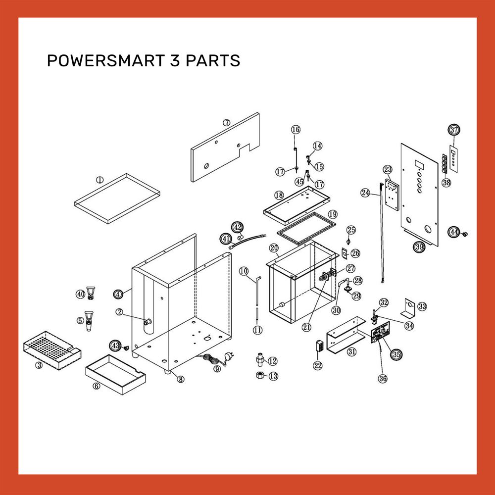 POWERSMART 3 PARTS